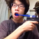 VIDEO nadie tiene este cepillo dental solo miren Japanese Teen Brushes His Teeth With A Toothbrush Strapped To An Automatic Pistol!