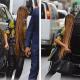 Fotos Beyone muestra su nuevo look frente  alas camaras de los paparazzis  Cabellos largisimo