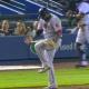 Vídeo  David ortiz muy molesto rompe el bate en pleno partido de béisbol que pique