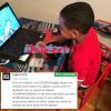 Fotos  El lapiz conciente publica esta imagen de su hijo y le envía este mensaje a sus colegas mira esto