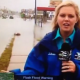 VIDEO miren este molleto detra de camara en que anda  Dude Trolls News Cast On A Giant Bicycle During A Flood Warning!