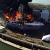 VIDEO miren este incendio captado en camara diablo! A Horrifyingly Beautiful Video of a Massive Yacht Fire