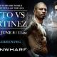 COTTO VS MARTINEZ : La pelea mas esperada' personal mente boy a Cotto apuesten a el