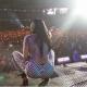 Fotos  Nicki minaj llamando la atencion con esta ropa durante la noche del día de ayer en su concierto