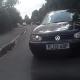 Accidente Fatal miren el video POV Footage Of Cyclist Crashing Head On With Car