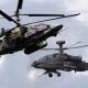 Combate El helicóptero de ataque ruso Ka-52 contra el Apache de EE.UU cual ganara?
