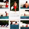 Fotos mira a Shakira & Piqué en una famosa playa de Cancun disfrutando