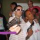 Fotos Miren  donde sale Cromo ex, D la ghetto y el lapiz mostrando pistolas en la manos