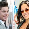 Farandula : Zac Efron y Michelle Rodriguez la actora dominicana de hollywood fueron captados besándose miren