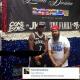 Famosos raperos americanos Fabolous, French Montana y otros en la parada dominicana con gorras y todo