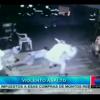 Video: Delincuentes entran a tiros a joven en estación de bomberos