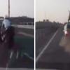 VIDEO Fatal accidente esta moto volo por los aires