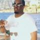 Bad Boy Records hiphop americano P. Diddy bailando salsa latina en alta mar miren este molleto