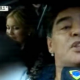 Diego maradona se apea de su jeepeta y le da una galleta a un periodista miren el video