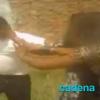 VIDEO Hombre golpea asu mujer casi matandola