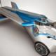 Mira el nuevo carro volador en accion