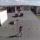 VIDEO Espía a su vecina en 'topless' con la ayuda de un dron Drone helicopter spies topless woman