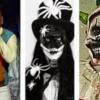 Increible Romeo Santos se disfrasa en Fiesta de Hallowen y nadie lo reconoce