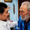 EL EX PRECIDENTE DE CUBA Fidel Castro escribe una carta a Maradona