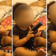 Video Pareja filma a su hija de un año metiéndose una pistola en la bocaPhone video shows baby playing with real handgun couple arrested