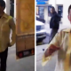 VIDEO miren que discucion Diablo! Angry Guy Punches Cameraman Through Glass