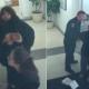 VIDEO mujer ase un tollo en estacion de policia Woman CaughtThrowing Bacon & Sausages In A Police Station!