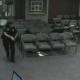 VIDEO Un hombre desnudo dispara al aire desde lo alto de un edificio en Florida at the New Hope City Council meeting