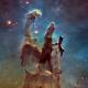 FOTO: La NASA presenta nuevas imágenes de los 'pilares de la creación'