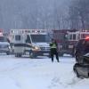 VIDEO Que maldito choque en la nieve Crazy: 150 Car Pile-Up On Michigan Highway I-94!