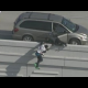 Policia detra de sospechoso 2 Suspects Jump Down 20 Feet Off Freeway Wall To Try And Escape From Police In Houston!