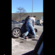 VIDEO Este hombre casi mata esta mujer Man Throws Woman Down For Shoplifting