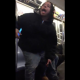 VIDEO Que droga tan mala se metio este Dude On The NYC Subway Needs To Stay Away From Them Drugs!