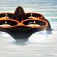 En 'enjambre' de drones busca mostrar el lado positivo de la tecnología