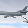 Video: Reabastecimiento en vuelo de los cazas que bombardean al Estado Islámico F-22s Strike Da'esh Targets