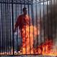 VIDEO Fuerte solo adulto prenden fuego muerte fatal ISIS burning to death of captured Jordanian pilot