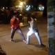 Pelea En Argentina le dieron que bomito la sangre Street Fight Ends With A Head Kick Knockout