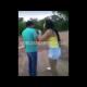 VIDEO Mujer matando a galleta asu Novio Dude Gets Bullied Around By His Massive Girlfriend!