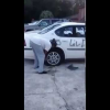 VIDEO le pegaron cuerno miren lo que ase al mario Girl Goes Ham On Her Boyfriend's Car For Cheating On Her!