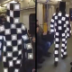 VIDEO Encuentran estraterrestre en el tren Guy With Awesome Costume On Moscow Subway