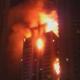 Medio oriente video Rascacielos residencial de lujo en Dubai arde en llamas