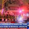 7 menores muertos en fuego en residencia de Brooklyn, NY