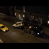 VIDEO Que maldito tiroteo miren Guy Escapes Car Being Towed In River North Chicago!