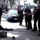 Impactante video: La policía de Los Ángeles mata a tiros a un hombre sin hogar