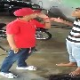 VIDEO Pelea muy fuerte con una pistola en mano Punk gets ass whopped after threatening guy with a gun