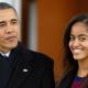 El Servicio Secreto de EE.UU. enseña a Malia Obama la Hija de Obama a conducir