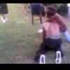 VIDEO Que maldita pelea merecen respeto One on one fight ends with Respect