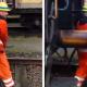Video Que trabajo mas peligroso miren esto An Extremely Dangerous Way To Connect Railroad Cars