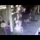 VIDEO Moto se prende en fuego emplena calle Ghost rider attempting to refuel