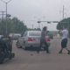 VIDEO Matandoce emplena calle chorriando la sangre Throwing Them Hands: Biker vs. Motorist Road Rage In Texas!