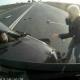 Video Accidente deja al menos dos muerto Lada driver killed after brutal accident
